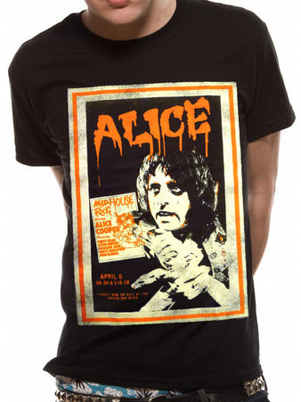 Alice Cooper (Poster Vintage) T-shirt Preview
