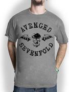 Avenged Sevenfold (Classic Deathebat Flock) T-shirt