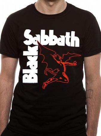 Black Sabbath (Creature Black) T-shirt Preview