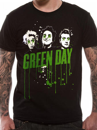 Green Day (Drips) T-shirt Preview