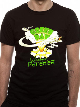 Green Day (Welcome To Paradise) T-shirt Preview