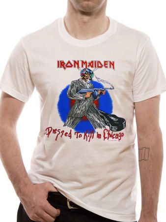 Iron Maiden (Chicago Mutants) T-shirt Preview