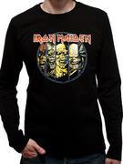 Iron Maiden (Eddie Evolution Long Sleeve) T-shirt