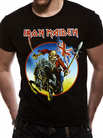 Iron Maiden (Euro Tour) T-shirt Preview
