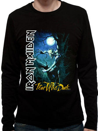 Iron Maiden (Fear of The Dark Long Sleeve) T-shirt Preview