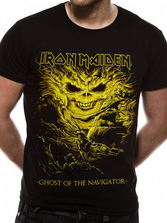 Iron Maiden (Ghost of the Navigator) T-shirt Preview