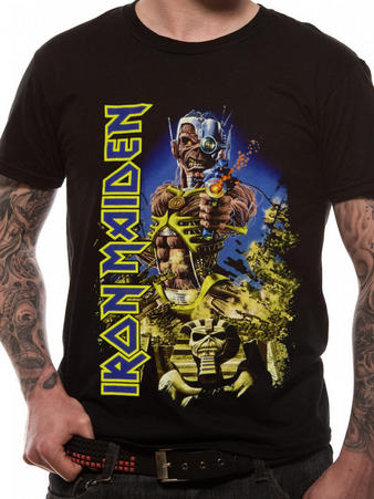 Iron Maiden (Somewhere Back in Time Jumbo) T-shirt Preview