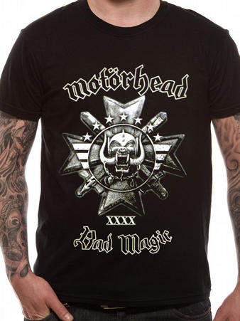 Motorhead (Bad Magic) T-shirt Preview