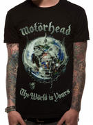Motorhead (The World is Yours Album Globe) T-shirt