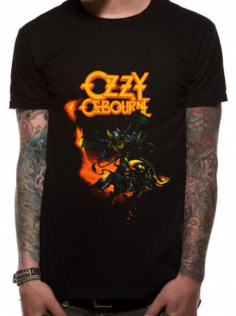 Ozzy Osbourne (Demon Bull) T-shirt Preview