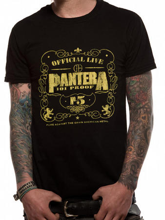 Pantera (101 Proof) T-shirt Preview