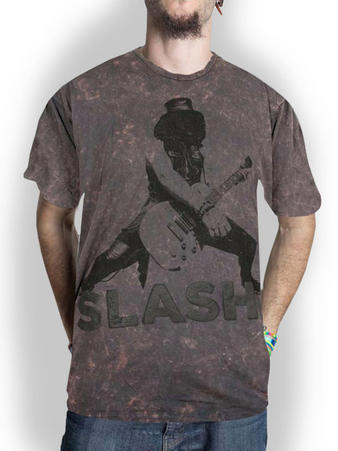 Slash (Snowblind Acid Wash Puff Print) T-shirt Preview