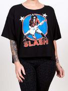 Slash (Stars Illuminous Print Boxy) T-shirt Thumbnail 3