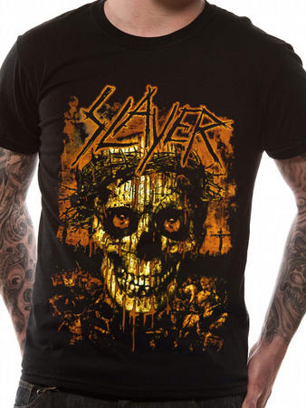 Slayer (Crowned Skull) T-shirt Preview