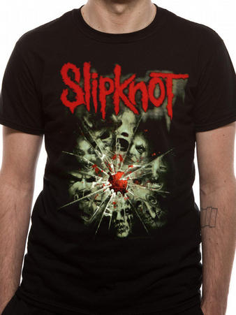Slipknot (Shattered) T-shirt Preview