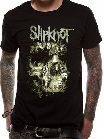 Slipknot (Skull Group) T-shirt Preview
