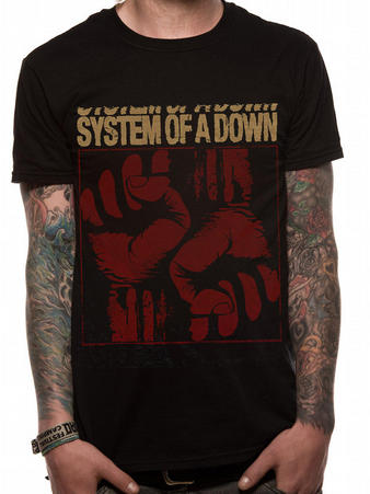 System Of A Down (Fistacuff) T-shirt Preview