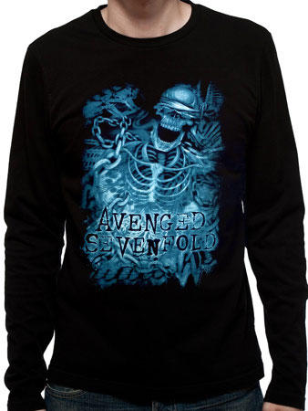 Avenged Sevenfold (Chained Skeleto Long Sleeve) T-shirt Preview