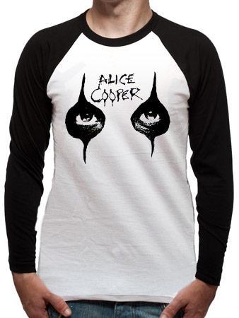 Alice Cooper (Eyes Raglan Raglan) T-shirt Preview
