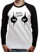 Alice Cooper (Eyes Raglan Raglan) T-shirt