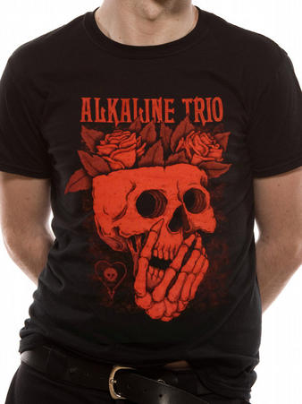 Alkaline Trio (Skull Rose) T-shirt Preview