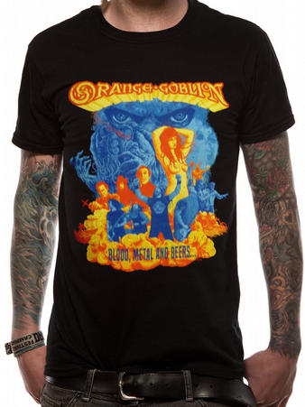 Orange Goblin (Blood Metal And Beers) T-shirt Preview