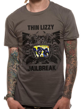 Thin Lizzy (Jailbreak) T-shirt Preview
