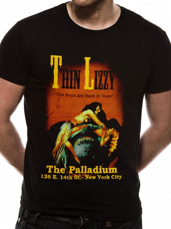 Thin Lizzy (The Boys are Back In Town) T-shirt Preview