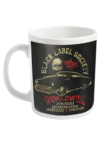 Black Label Society (Hell Riding Hot Rod) Mug Preview