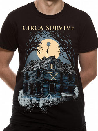 Circa Survive (Abandoned) T-shirt Preview