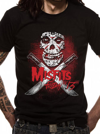 Misfits (Friday 13th) T-shirt Preview