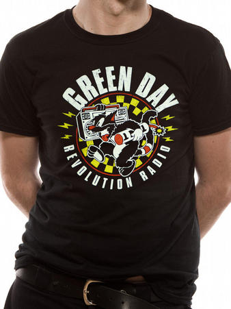 Green Day (Checker Cat) T-shirt Preview