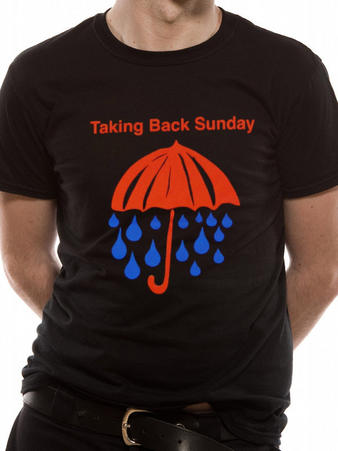 Taking Back Sunday (Rain) T-shirt Preview
