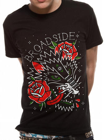 Broadside (Wolf) T-shirt Preview