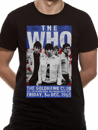 The Who (Goldhawk) T-shirt Preview