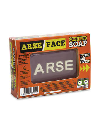 Arse/Face (Scented) Soap Preview