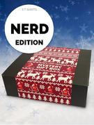Loudclothing (3 Nerd T-shirts) Christmas Gift Box