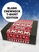 Loudclothing (4 Blank T-shirts) Christmas Gift Box