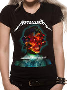 Metallica (Hardwired Album Cover) Fitted T-shirt
