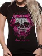 Metallica (Wherever I May Roam) Fitted T-shirt