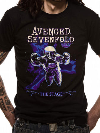 Avenged Sevenfold (Polarised Astronaut) T-shirt Preview