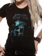 Avenged Sevenfold (Galaxy) Fitted T-shirt