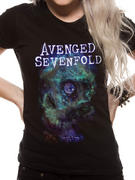 Avenged Sevenfold (Space Face) Fitted T-shirt