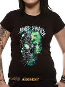 Avenged Sevenfold (Turbo Skull) Fitted T-shirt