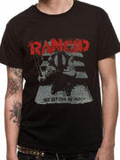 Rancid (Wolves Black) T-shirt