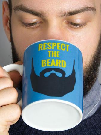 Respect The (Beard) Mug Preview