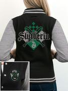 Slytherin (Crest) Varsity Jacket