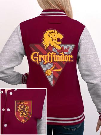 Gryffindor (Crest) Varsity Jacket Preview