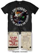 Jimi Hendrix (Special Edition: Atlanta Pop Festival 1970) T-shirt