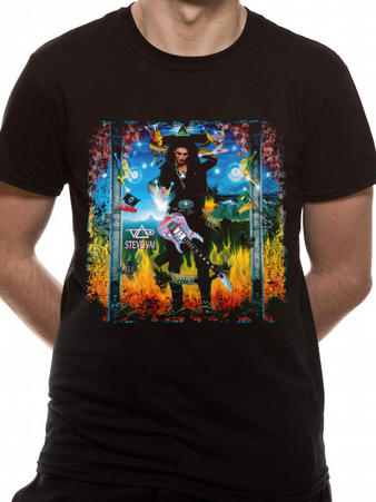 Steve Vai (Passion And Warfare 25) T-shirt Preview